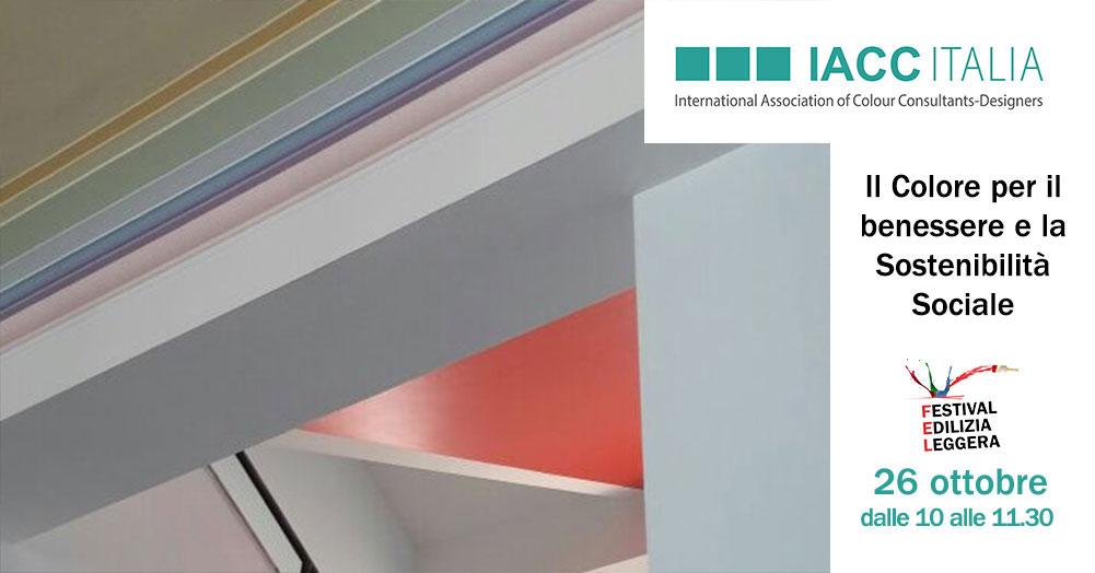 Convegno IACC Italia – Il Colore per il benessere e la Sostenibilità Sociale
