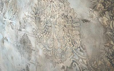 I nuovi stencil per le pareti