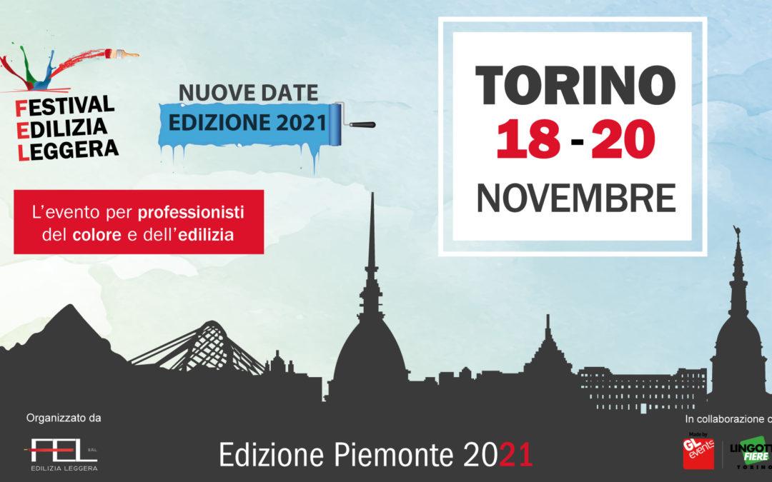 FEL Torino 2021 le nuove date: in scena dal 18 al 20 novembre!
